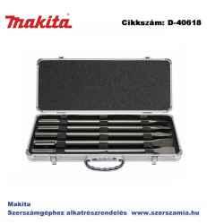 Véső készlet standard SDS-Max 3 hegyes, 2 lapos 400 mm T2 MAKITA