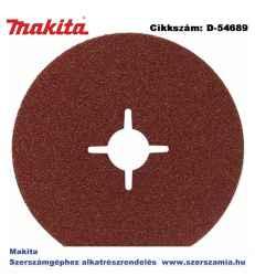 ABRASIVE DISC P60 125mm MAKITA 50db/csomag
