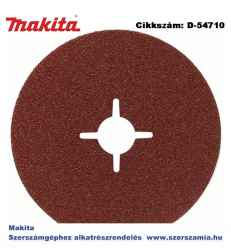 ABRASIVE DISC P120 125mm MAKITA 50db/csomag