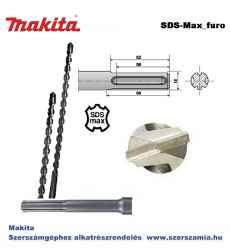 Fúró készlet standard SDS-Max 16,18,20x340 mm T2 MAKITA