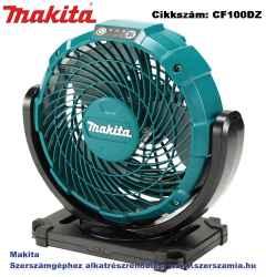 MAKITA 10,8V CXT Li-Ion 180 mm ventilátor Z