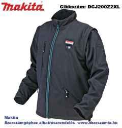 MAKITA 14,4V-18V LXT Li-Ion fűthető kabát Z méret 2XL