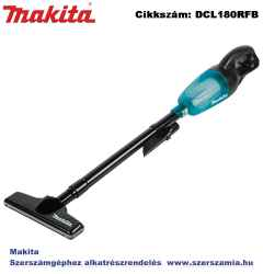MAKITA 18V LXT Li-Ion porszívó, 78 m3/h 1x3,0