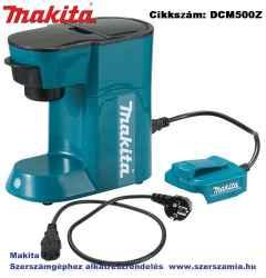 MAKITA 18V LXT Li-Ion kávéfőző Z