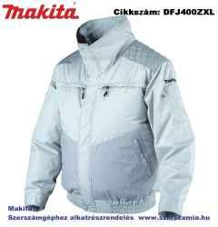 MAKITA 10,8-18V CXT, LXT Li-Ion hűthető kabát kültéri Z méret: XL plusz BL1830