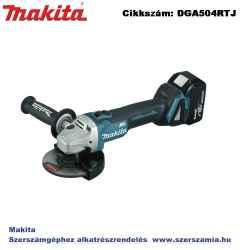 MAKITA 18V LXT Li-Ion BL 125mm sarokcsiszoló 2x5,0Ah
