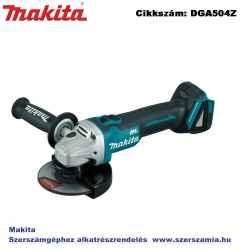 MAKITA 18V LXT Li-Ion BL 125mm sarokcsiszoló Z