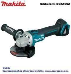 MAKITA 18V LXT Li-Ion BL 125mm sarokcsiszoló Z plusz FÉK