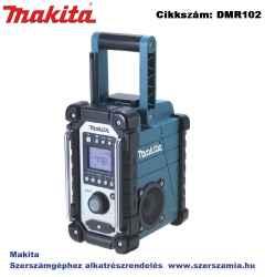 MAKITA 7,2V-18V LXT, Ni-Cd akkus rádió Z