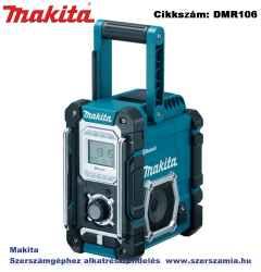 MAKITA 7,2V-18V LXT, G Li-Ion BLUETOOTH akkus rádió Z