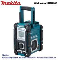 MAKITA 7,2V-18V LXT, CXT Li-Ion BLUETOOTH akkus rádió Z