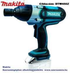 MAKITA 18V LXT Li-Ion 440Nm ütvecsavarbehajtó 1/2col Z