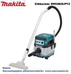 MAKITA 2x18V LXT Li-Ion BL száraz-nedves porszívó 2x5,0Ah