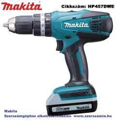 MAKITA 18V G Li-Ion 42Nm ütvefúró-csavarbehajtó 2x1,3Ah