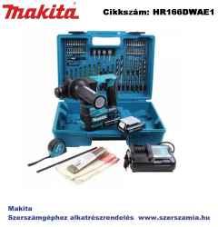 MAKITA 10,8V CXT Li-Ion szett HR166D plusz 2x2,0Ah plusz TARTOZÉKOK