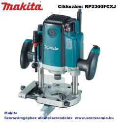 MAKITA 23000W 12mm felsőmaró 0-70mm, ford.