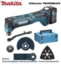 MAKITA 10,8V CXT Li-Ion multifunkciós gép 2x4,0Ah plusz tartozékok