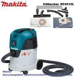 MAKITA 1000W 216 m3/h száraz-nedves porszívó 25l L