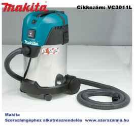 MAKITA 1000W 216 m3/h száraz-nedves porszívó 30l L
