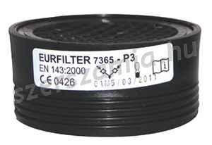 SUPAIR Eurfilter P3R szűrőbetét 2db / csomag mérgező részecskék, 2db / csomag