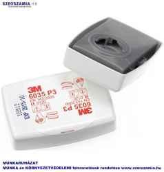 3M 6035 P3 szűrőbetét, mérgező részecskék ellen, 1 darab