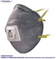 3M 9914 FFP1S részecskeszűrő félálarc, 10db / doboz