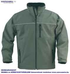 YANG zöld férfi softshell kabát, méret: S, KIFUTÓ termék 1 darab