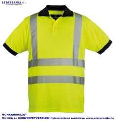 HI-VIZ Fényvisszaverő póló sárga, méret: M, 1 darab