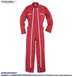 Kétcipzáras overall piros , méret: 42 S, 1 darab