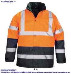 ROADWAY 3/1 narancs/kék kabát, méret: M, KIFUTÓ termék 1 darab