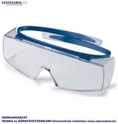 UVEX Super OTG szemüveg,kék keret, víztiszta lencse, 1 darab
