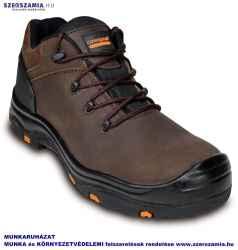TOPAZ S3 SRC HRO barna hőálló talpú védőfélcipő kompozit, méret: 43, 1 pár
