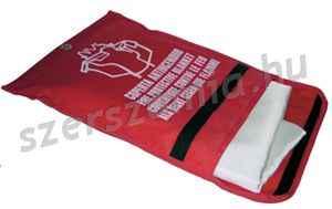 Tűzelfojtó takaró, méret: 100 x 100 cm, 1 darab