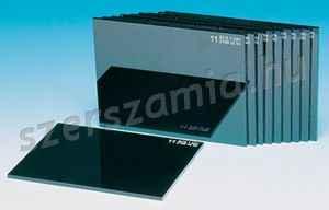 DIN-9 hegesztőüveg, méret: 90 x 110 mm, 10db / csomag
