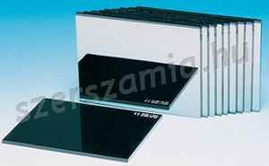 Víztiszta hegesztő előtétüveg, méret: 90 x 110 mm, 50db / csomag