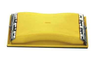 Kézi csiszoló, 3mm-es mohagumi réteg Sandpad 102x210mm