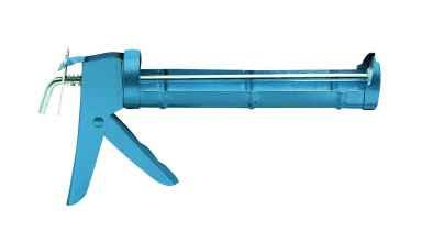 Kinyomópisztoly, fém, fogasléces YES Caulking gun 310 ml