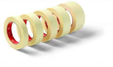 Festőszalag, ipari kiszerelés, címke nélkül RedCore 19mmx50m Ind