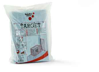 Takarófólia, LDPE, fekete Target S50 4x6m black