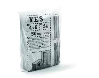 Takarófólia, LDPE, fekete YES S50 4x6m black