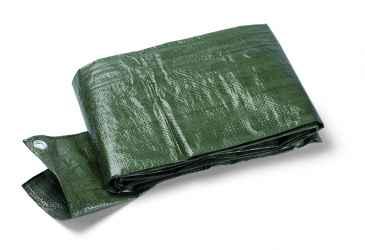 Védőponyva, zöld, 90g/m2, fémgyűrűkkel Terra S90 2x3m
