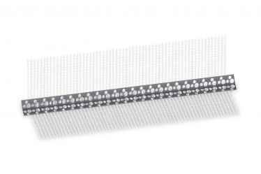 PVC hálós élvédő Corner Pvc hálós 10x10cm 2,5m