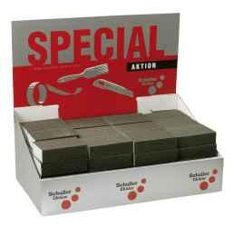 Csiszolószivacs konténer, 60 db-os (15-15db 36, 60, 100, 180) 60 Softcut SET