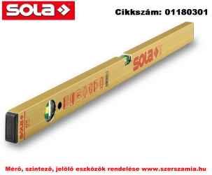Alu-Mágneses vízmérték AZM 30 SOLA