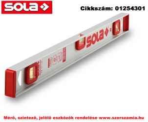 Alu-I-vízmérték I5 30 SOLA