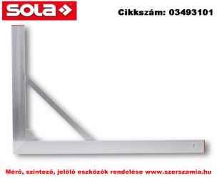 Építőipari derékszög BWS 100X150 SOLA