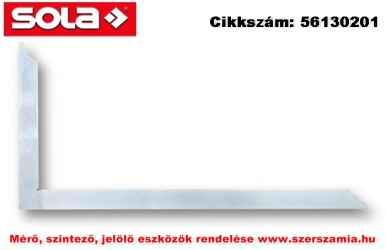 Ács derékszög ZWZ 500 horganyzott, 500mm SOLA