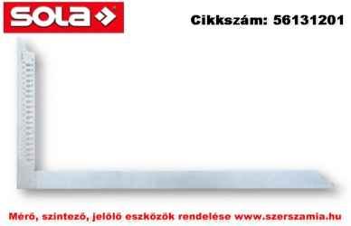 Ács derékszög ZWZA 1000 horganyzott, 1000x380mm, jelölő furatokkal SOLA
