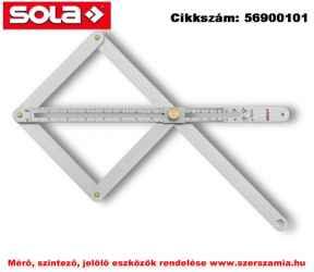 Kombi derékszög VK 380 170x380mm SOLA