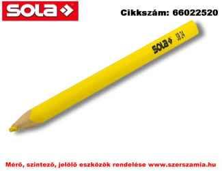 Jelölő ceruza SB24 sötét és csúszós felületre, fémre, gumira SOLA